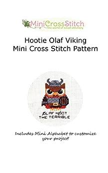 Hootie Olaf Viking Mini Cross Stitch Pattern by [Stitch, Pinoy]