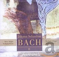 J.S.バッハ:「ヴァイオリンとチェロのための編曲集第2集」フランス風序曲ロ短調BWV831/フランス組曲第5番ト長調BWV816/パルティータ第2番ハ短調BWV826