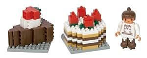 ナノブロック チョコレートケーキセット