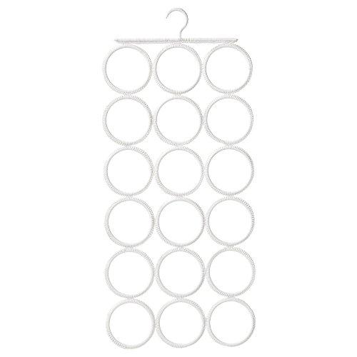 IKEA COMPLEMENT マルチユースハンガー ホワイト 3×6