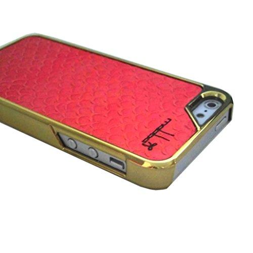 mabba ( マッバ ) ドイツ の 珊瑚 レザーiphoneケース iPhone 5 5S ケース Case leder Mrs. Coralia GOLD 本革 レザー IPHONEケース コーラリア カバー ( iPhone5s iPhone5 ) 保護シート セットアイフォン apple 海外 ブランド