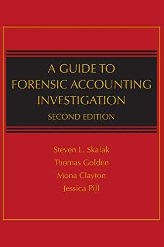 Download A Guide to Forensic Accounting Investigation 0470599073