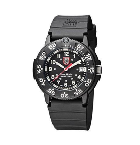 [ルミノックス] 腕時計 ネイビーシールズ オリジナル 日本限定 レッドハンド 3001RH 正規輸入品 ブラック
