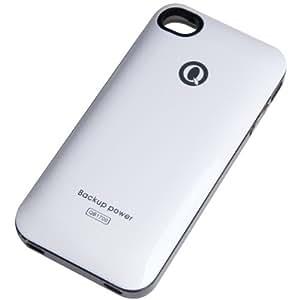 QYG iPhone バッテリー for 4/4S 1700mAh FC13 (QB1700) White