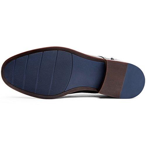 (フォクスセンス) Foxsense ビジネスシューズ 紳士靴 革靴 本革 メンズ モンクストラップ 5枚目のサムネイル