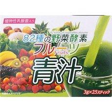 HIKARI 82種の野菜酵素 フルーツ青汁 3g×25スティック B073RZDQMB 1枚目
