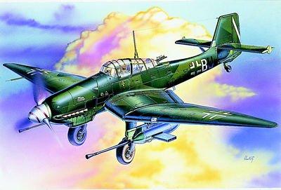 イタレリ 1221 1/72 Ju-87G2対戦車攻撃機