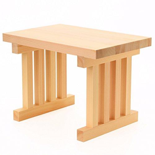 木曽ひのき製 八足台