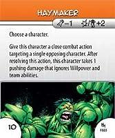 HeroClix: Haymaker # F03 (Rookie) - Mutant Mayhem
