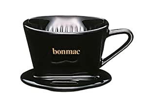 bonmac ドリッパー ブラック 【1~2杯用】 CD-1B #813002