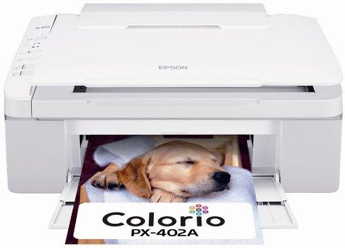 EPSON Colorio インクジェット複合機 PX-402A 普通紙くっきり 4色顔料インク