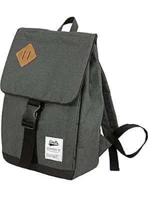 [アネロ]anello ポリキャンバス スクエア リュック デイパック Sサイズ 【オリジナル エコバッグ付】 AU-A0133 グレー