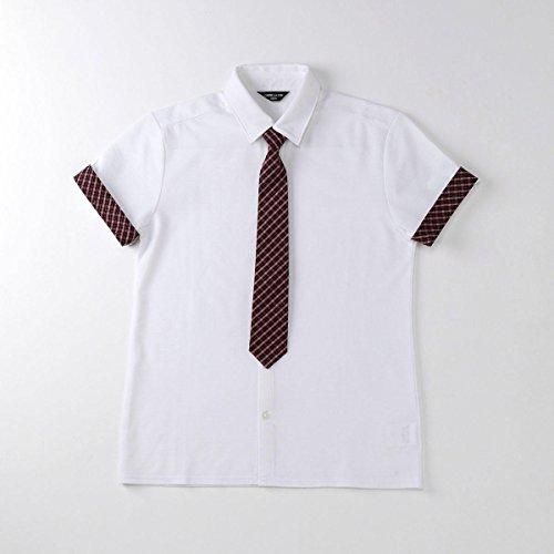 (コムサ イズム) COMME CA ISM ネクタイ付きシャツ(140-160cm) 98-18CF20-108 150cm ホワイト