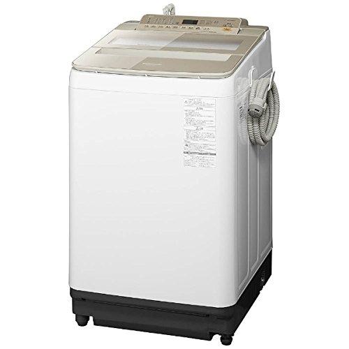 パナソニック 9.0kg 全自動洗濯機 シャンパンPanasonic エコナビ NA-FA90H5-N