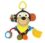 DEZAR ベビー&キッズ 知育遊具 ぬいぐるみ おもちゃ 子供 赤ちゃん (猿)