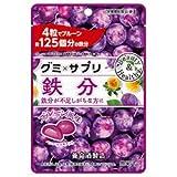 養命酒 グミサプリ 鉄分 48g×6袋入×(2ケース)