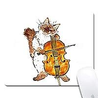 天然ゴムマウスパッド タコ絵画 ノンスリップゴムマウスパッド ゲームマウスマット