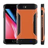 Happon iPhone 6 Plus 6s Plus 7 Plus 8 Plus 5000mAh Battery Charger バッテリーケース, Ultra スリム 余分な充電器 ポータブル 充電器 iPhone 6 Plus 6s Plus 7 Plus 8 Plus 5000mAh Battery Charger 充電ケース, 外部 充電式 保護 電源 Pack ジュースバンク