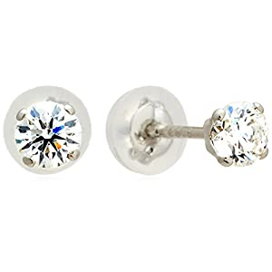 [エクセディア] Exedia ダイヤモンド0.3カラット×プラチナスタッドピアス 4本爪セッティング【エクセレントカット】【鑑定書付】 PDPRG19753