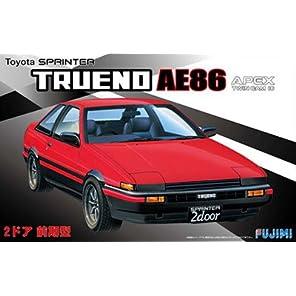 フジミ模型 1/24 インチアップシリーズ No.183 トヨタ ハチロクトレノ 2ドアGT/APEX前期型 プラモデル ID183