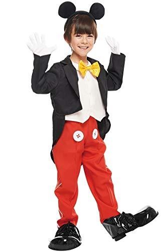 ディズニー ミッキーマウス キッズコスチューム 男の子 100cm-120cm