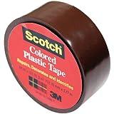 3M スコッチ プラスチックテープ 19mm 190 茶