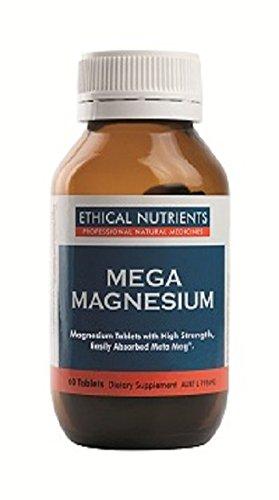 メガ マグネシウム (高速吸収&多機能マグネシウム サプリ) [海外直送品] (60錠)