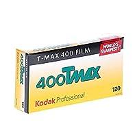 Kodak 856 8214 プロフェッショナル 400 Tmax 白黒ネガフィルム 120 (ISO 400) 5ロールパック 2 Pack
