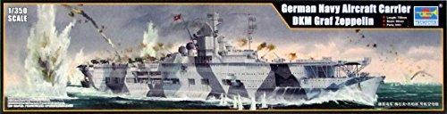 トランペッター 1/350 ドイツ海軍 航空母艦 グラーフ・ツェッペリン プラモデル 05627