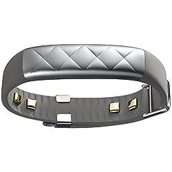 【日本正規代理店品】Jawbone UP3 ワイヤレス活動量計リストバンド 睡眠計 心拍計 シルバークロス JL04-0101ACA-JP