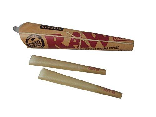 RAW / ロウ CLASSIC 1 1/4 Cones コーン型ローリングペーパー 3パック(1パック6本入り)