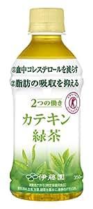 [トクホ] 伊藤園 2つの働き カテキン緑茶 (電子レンジ対応) 350ml×24本