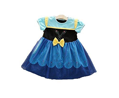 1123dce46d20f (MISOAMISO) ディズニープリンセス 子供用 ドレス キッズ ワンピース 白雪姫 アナ エルサ アナ雪 コスチューム