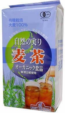 OSK 有機 自然の実り 麦茶 10g×16袋