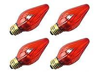 4qty。Halco 25W f15AMB med 130V Halco f15amb2525W 130V白熱黄色ランプ電球