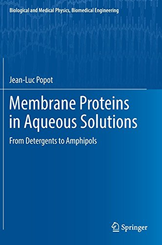 Membrane Proteins in Aqueous Solutions: From Deter...