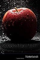 Notebook: Apple, Rosso, Nero, Flash taccuino / agenda / quaderno delle annotazioni / diario / libro di scrittura / carnet /  zibaldone - 6 x 9 pollici (15,24 x 22,86 cm), 110 pagine, superficie lucida.