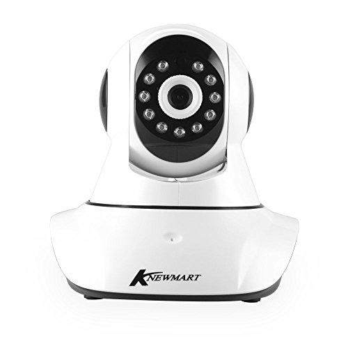 KNEWMARTホームセキュリティIPカメラ 無線 ミニIPカメラ監視カメラWifi 720P 夜間暗視 CCTVカメラベビーモニター