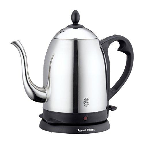 ラッセルホブス 電気ケトル ステンレス コーヒー ドリップ ポット 細口 1.0L 7410JP