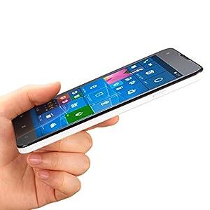 マウスコンピューター SimフリーWindowsPhone (Simフリー/Windows10 Mobile/5inch/MicroSD16GB同梱/保護シート付) MADOSMA Q501A-WH