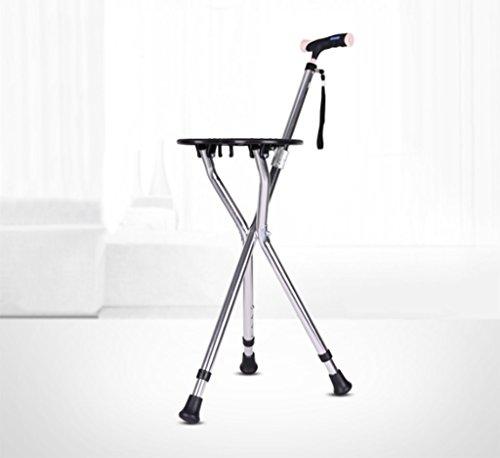 GZD調節可能な折りたたみ歩行ケーンの椅子