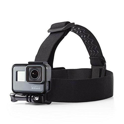 Amazonベーシック ヘッドストラップ GoPro用 防水 フリーサイズ ブラック