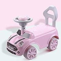 子供たちは車をねじる 安全アンチリバース快適なマッサージシートツイストカーアンチスキッド壊れるのは簡単ではありませんバランスカー(55 * 25 * 39.5cm) (色 : ピンク)