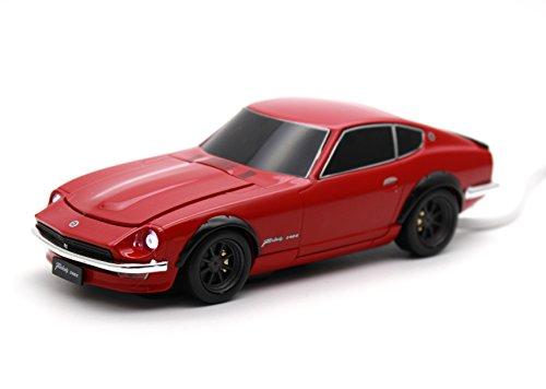 [CassetteCarProducts] 日産 フェアレディZ 240Z 自動車型 モバイルバッテリー スーパーレッド 4500mAh 4562367657274