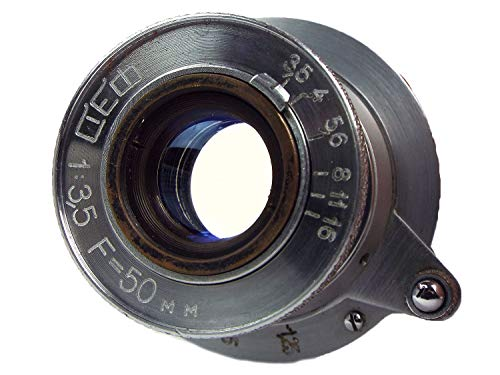 KING-2 FED INDUSTAR-10 50mm/f3.5 on FED2沈胴式レンズ Lマウント B01MUCRSEY 1枚目