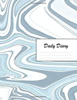 Daily Diary: Blank 2020 Journal Entry Writing Paper for Each Day of the Year | Fancy Marble Design Pattern | January 20 - December 20 | 366 Dated Pages | A Notebook to Reflect, Write, Document & Diarise Your Life, Set Goals & Get Things Done