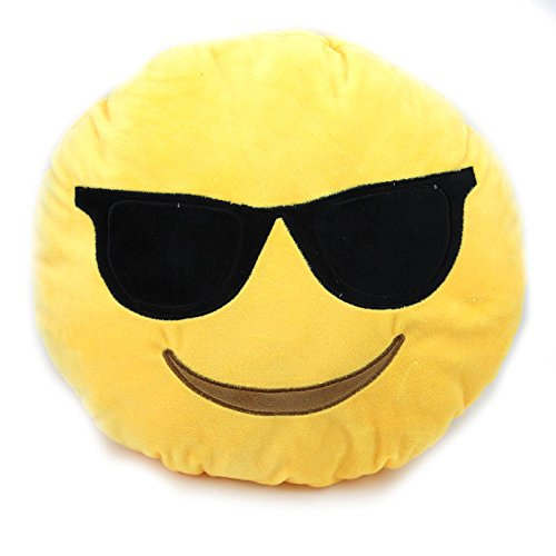 Emoji クッション かわいい絵文字 スマイリーおもちゃ 柔らかい抱き枕 ...