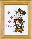 オリムパス刺繍キット ディズニー 【ミニーマウス】(額付) 7235