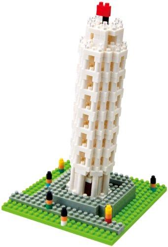nanoblock ピサの斜塔