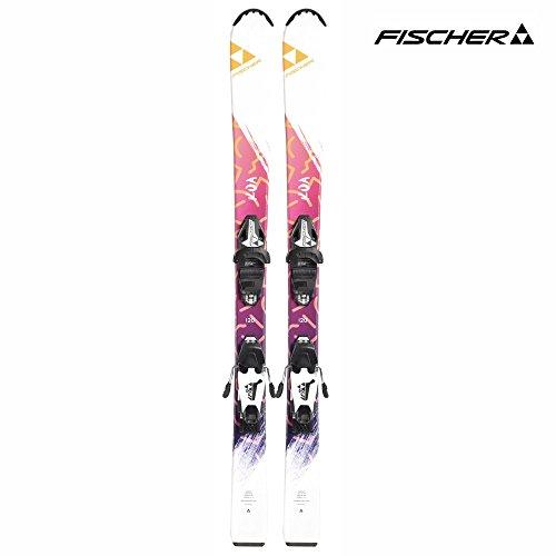 [해외]FISCHER (피셔) A2121616-17 걸스 스키 바인딩 세트 KOA SLR2JR + FJ4AC/FISCHER (Fisher) A2121616-17 Girls ski binding set KOA SLR 2 JR + FJ 4 AC